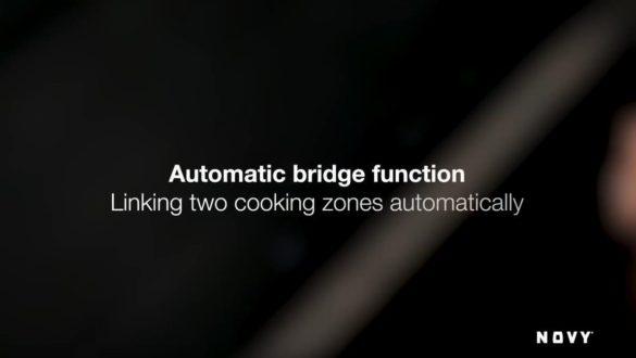 Funkce Bridge - spojení dvou varných zón