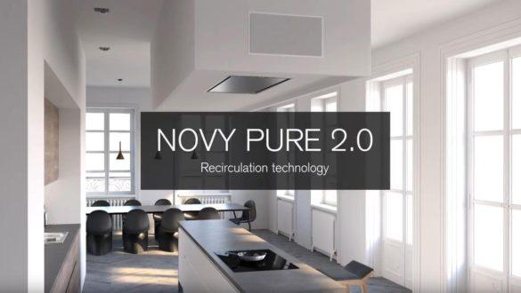Novy Pure 2.0 - technologie recirkulaci Pure'line