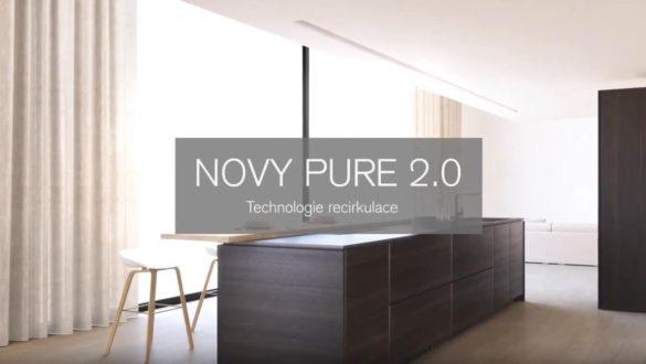 Novy Pure 2.0 - technologie recirkulace Panorama