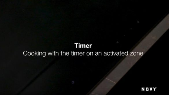 Nastavení timeru na varné desce
