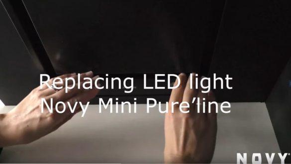 Mini Pure'line výměna LED žárovek
